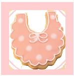 baby shower cookie